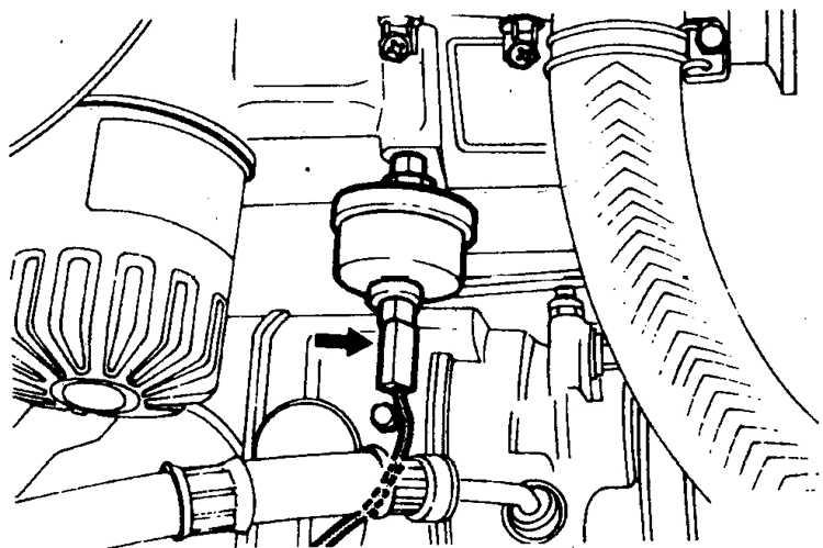 Где находится датчика давления масла паджеро
